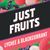 Lychee & Blackcurrant by Just Fruits - Wick And Wire Co Nicotine Eliquid New Zealand