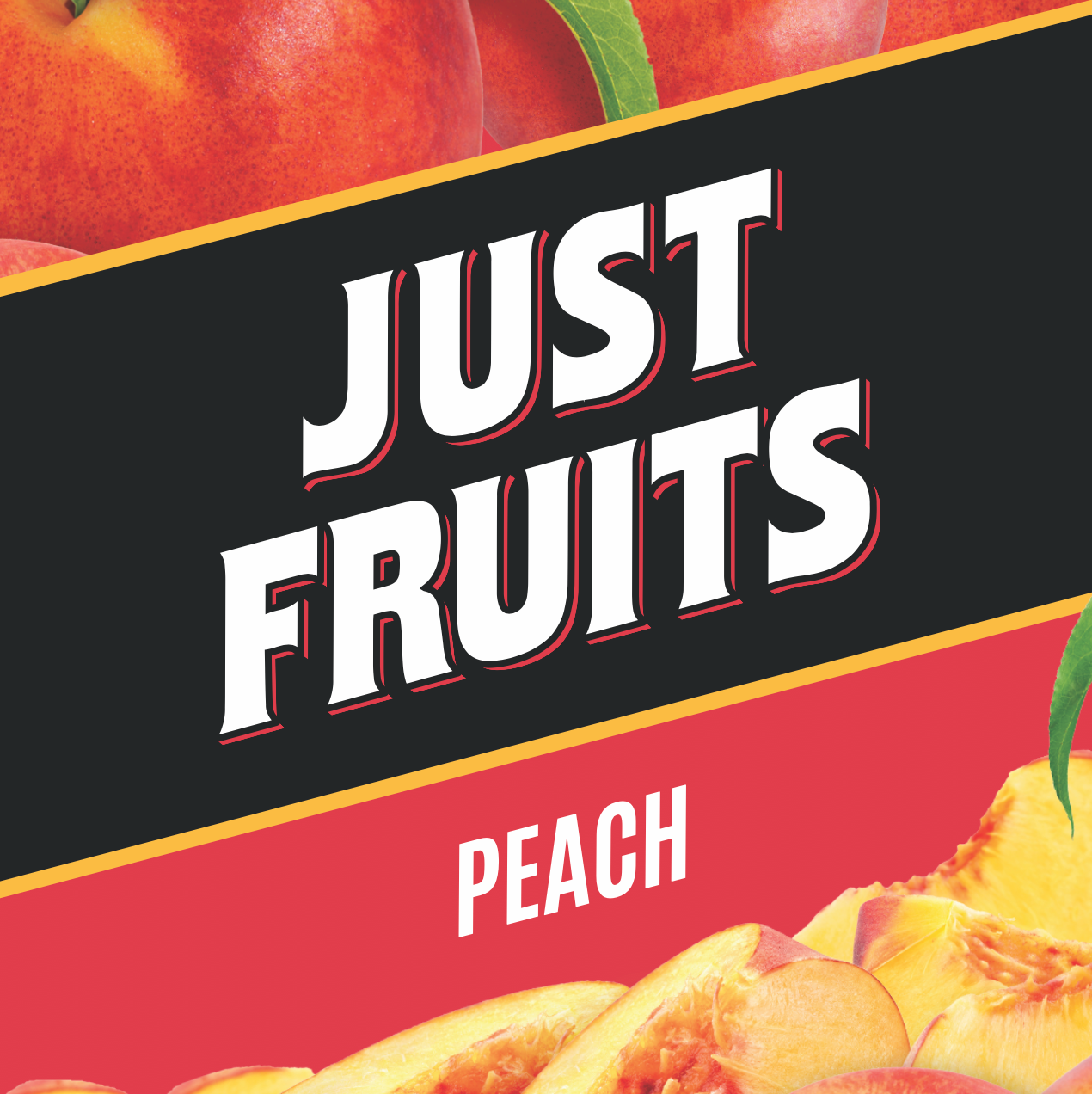 Peach by Just Fruits - Wick And Wire Co Nicotine Eliquid New Zealand