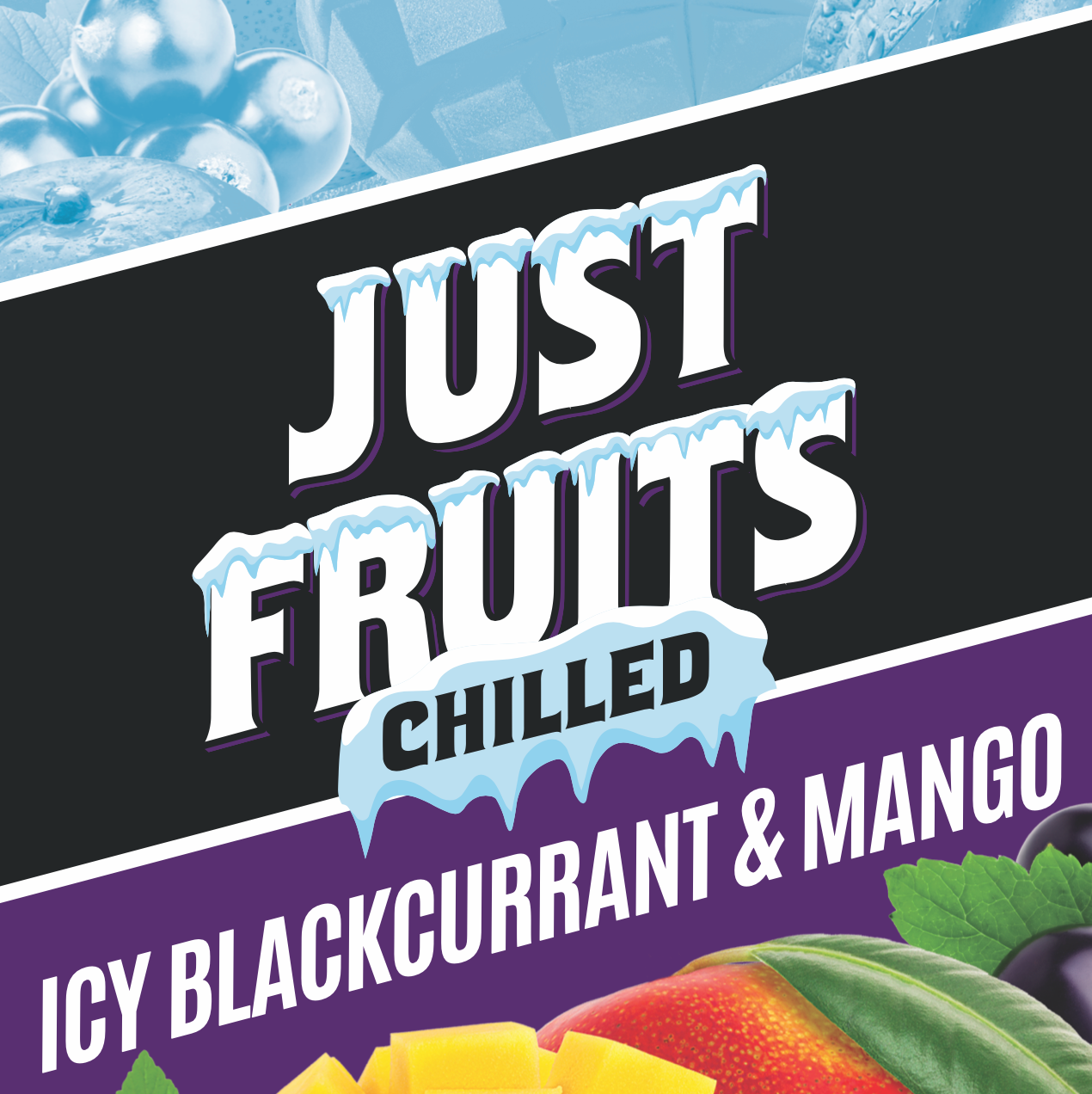 Chilled Series - Blackcurrant & Mango by Just Fruits - Wick And Wire Co Nicotine Eliquid New Zealand