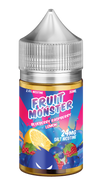 Blueberry Raspberry Lemon by Fruit Monster Salts - Wick And Wire Co Nicotine Eliquid New Zealand