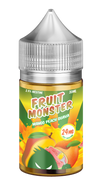 Mango Peach Guava by Fruit Monster Salts - Wick And Wire Co Nicotine Eliquid New Zealand