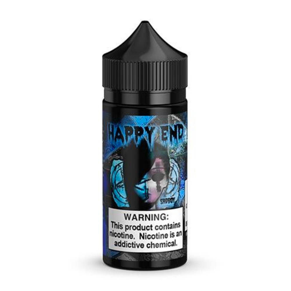 Happy End Series - Blue Cotton Candy by Sad Boy - Wick And Wire Co Nicotine Eliquid New Zealand