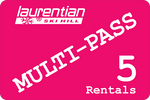 Rental 5-Pass Card