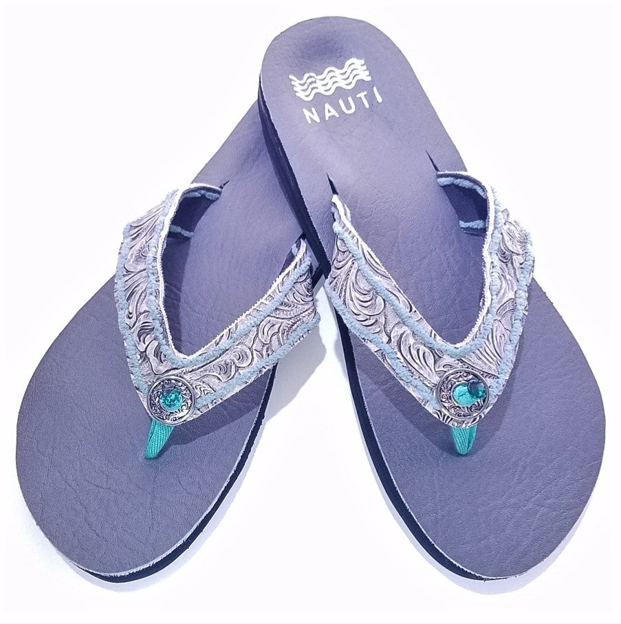 Miss Kitty Western Ortho Flip Flop Sandals