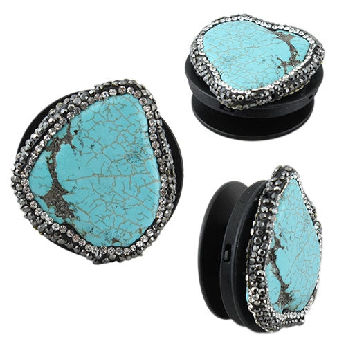 Cellphone Silver Turquoise Western Boho Pop Sockets
