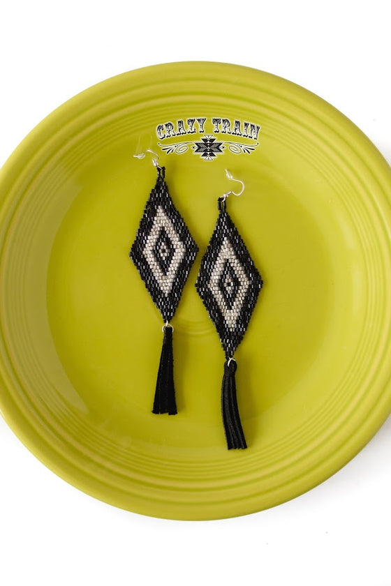 Broken Bow Tribal Earrings
