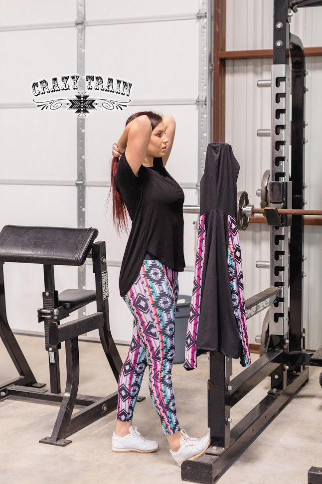 Rack and Roll Leggings Workout Lounge Bottoms