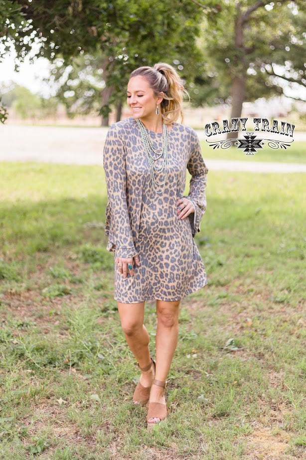 Haven Leopard Dress