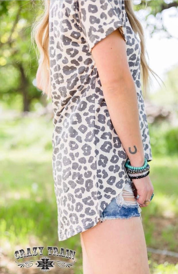 Baskin Leopard Light Tee Top
