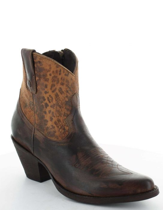 Corinna Leopardito Western Boho Boots by Old Gringo