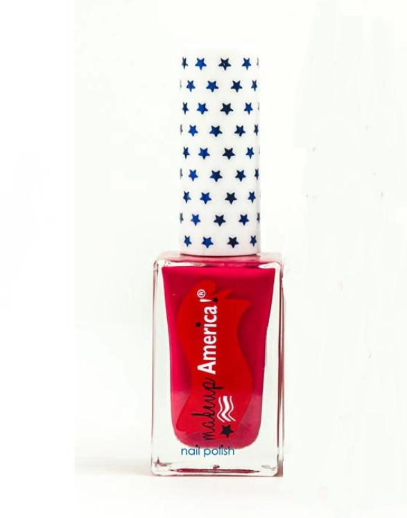 Independence Red Makeup Nail Polish