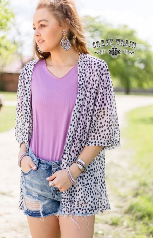 Dalmation Nation Cardigan