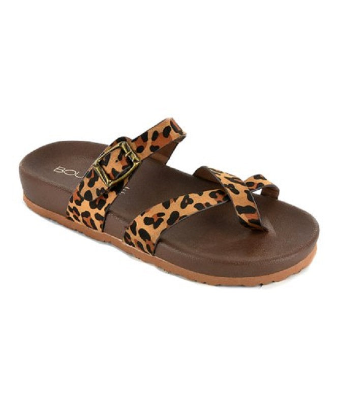 Heavenly Leopard Sandals - Restock