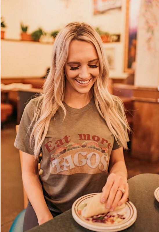 Eat More Tacos T-shirt Top