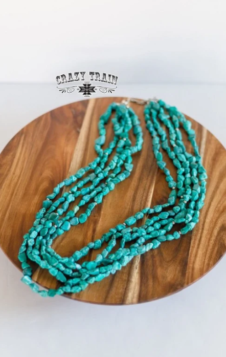 Turquoise Thunder Necklace