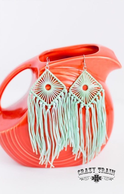 Day Dreamer Fringe Earrings