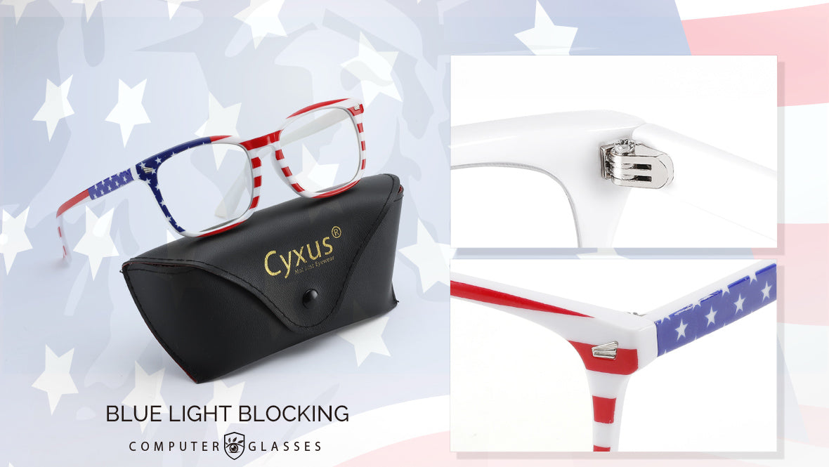 cyxus usa flag 8082 computer glasses