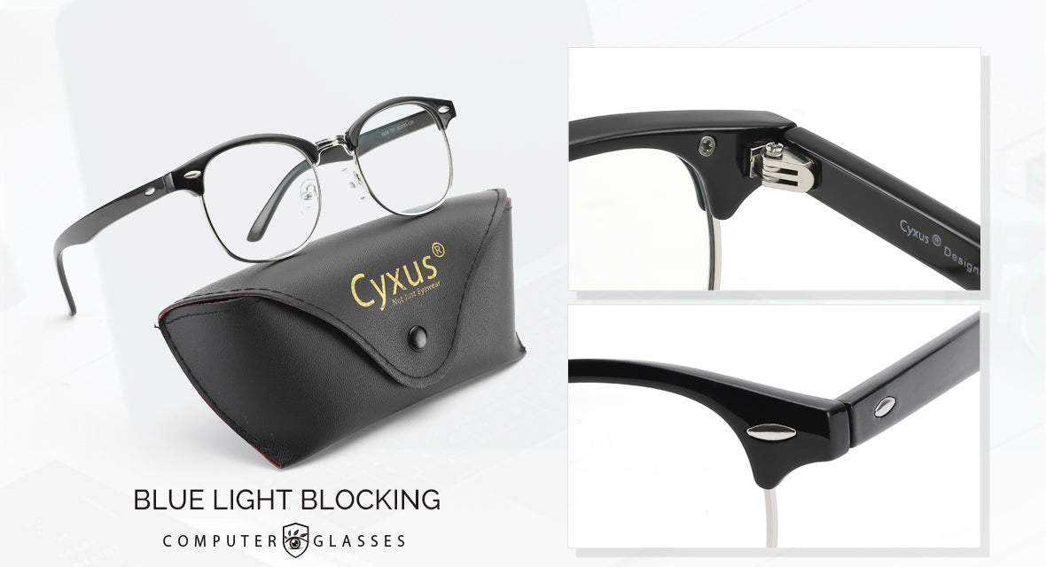 cyxus blue light blocking glasses 8056