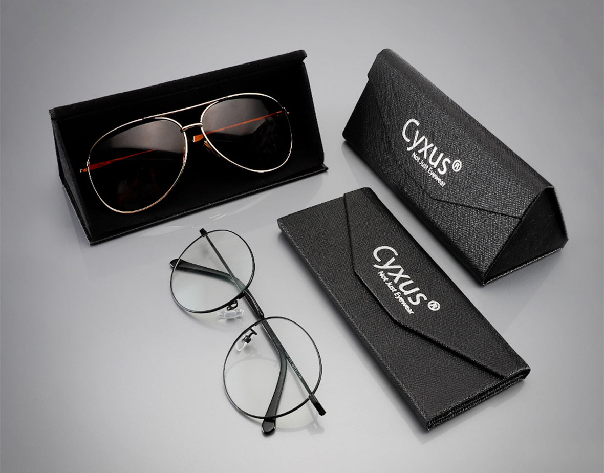 cyxus eyeglasses case box