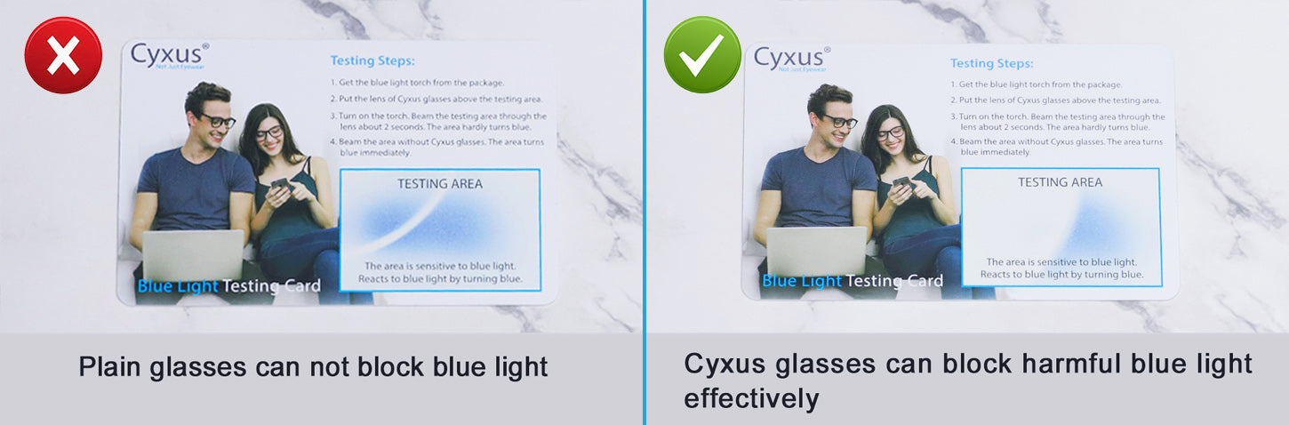 cyxus glasses test card