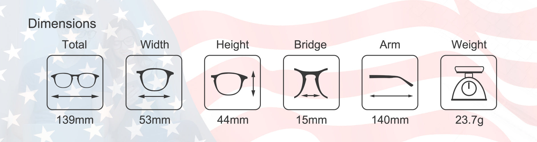 cyxus us independence glasses