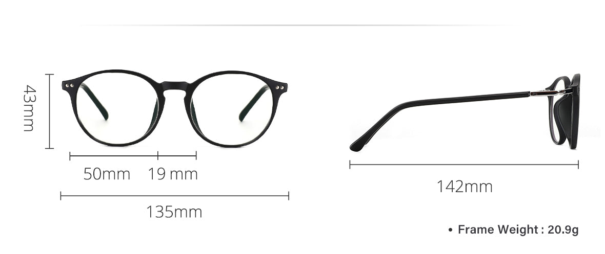 cyxus blue light filter glasses 8010