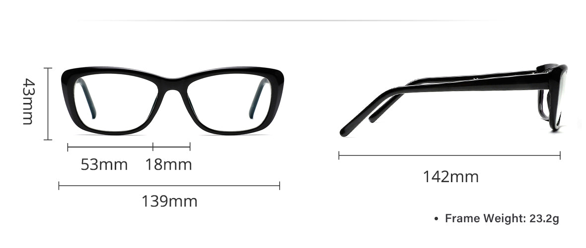 Cyxus blue light filter glasses 8511