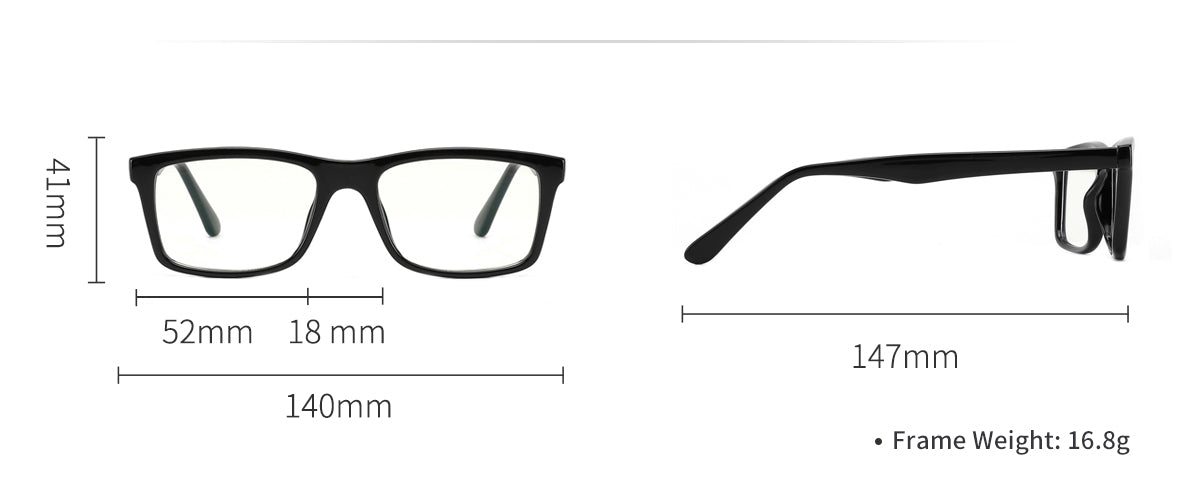 Cyxus blue light filter glasses 8551