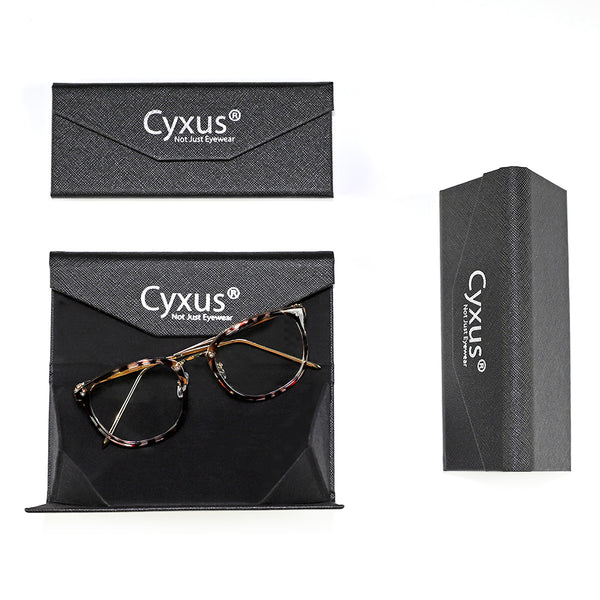 Cyxus Triangle Eyeglasses Case Glasses Case cyxus