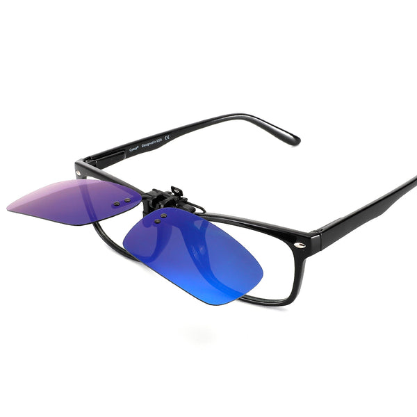Polarized Clip On Sunglasses 1100 Clip On Sunglasses cyxus