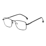 Blue Light Blocking Glasses Metal Square Clear Lenses 8752 Computer Glasses cyxus