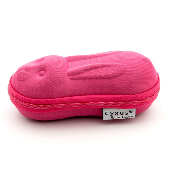 Kid's Car/Rabbit Shaped Glasses Case Holder  Blue/Pink Sun glasses Box Eyeglasses Storage Accessories Glasses Case cyxus