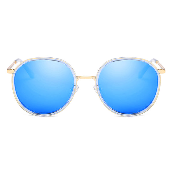 Polarized Retro Vintage Round Sunglasses for Men Women 1001 Mirror Finish Polarized Sunglasses cyxus
