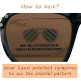 Polarized Sunglasses Eyeglasses Test Card Polarizer Tester