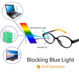 Blue Light Blocking Glasses for Kids 6161 Computer Glasses cyxus