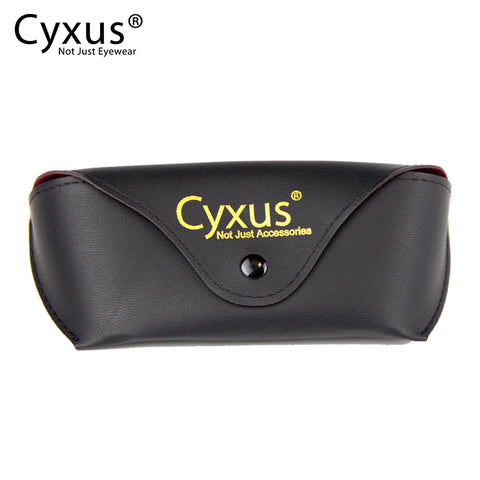 Cyxus Leather Eyeglasses Case Glasses Case cyxus