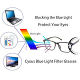 Blue Light Filter Computer Glasses 8200