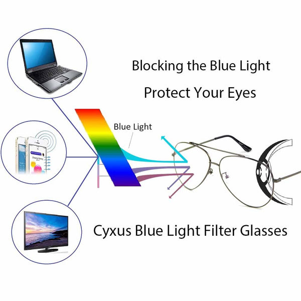 Blue Light Filter Computer Glasses 8805