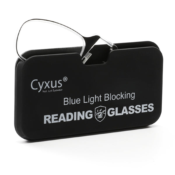 Presbyopia Blue Light Blocking Clip on Reading Glasses 2606 Reading Glasses cyxus