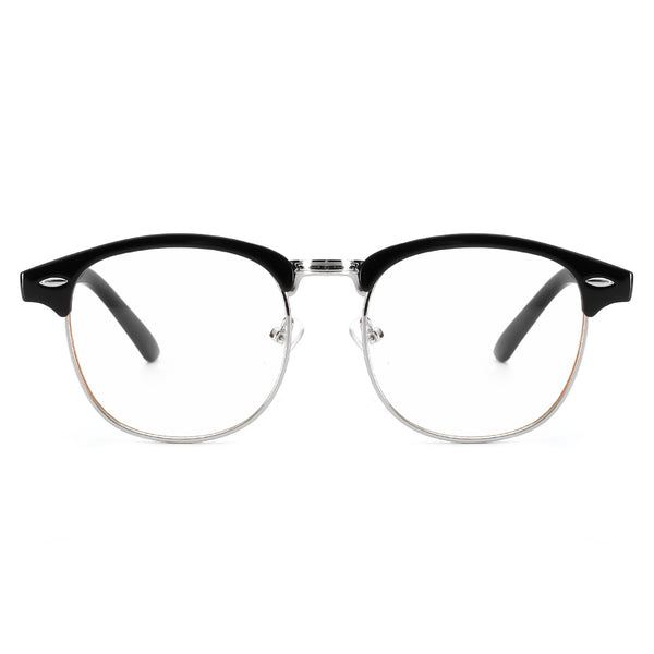 Plain Glasses Round Clear Lenses 8056X01 Plain Glasses cyxus