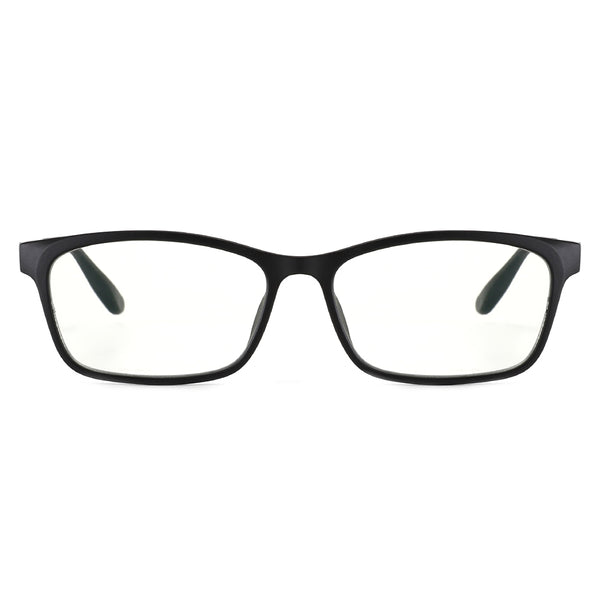 Blue Light Blocking Glasses Ultem Rectangle Clear Lenses 8070 Computer Glasses cyxus