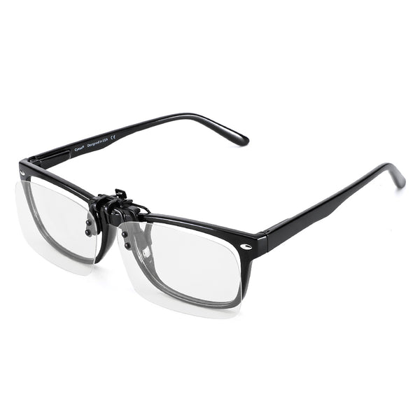 2 Pack Blue Light Filter Clip On Computer Glasses 8099H44 Clip On Computer Glasses cyxus
