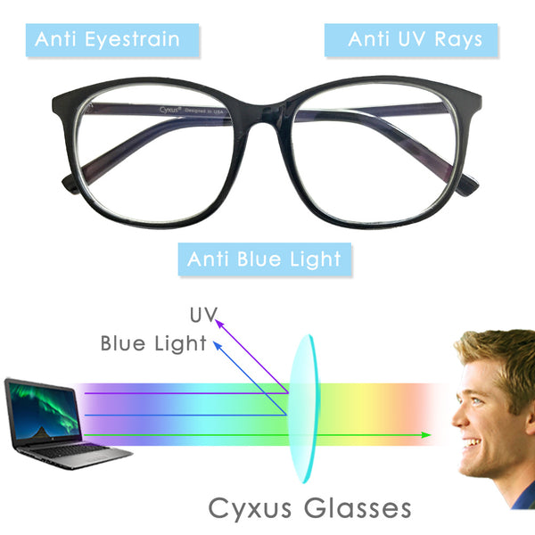 Blue Light Blocking Glasses Riya Computer Glasses cyxus