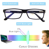 Blue Light Filter Computer Glasses 8323