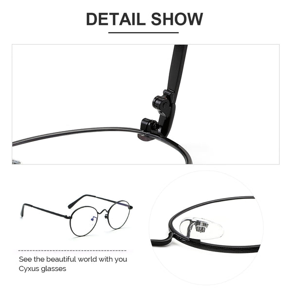 青いLight Blocking Glasses Clarda Computer Glasses cyxus