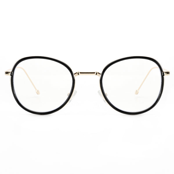 Blue Light Blocking Retro Round Lightweight Computer Glasses for Men Women 8801 Clear Lenses Computer Glasses cyxus