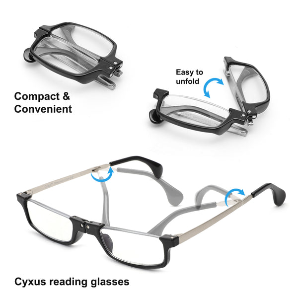 Presbyopia Blue Light Blocking Foldable Reading Glasses 2311 Reading Glasses cyxus