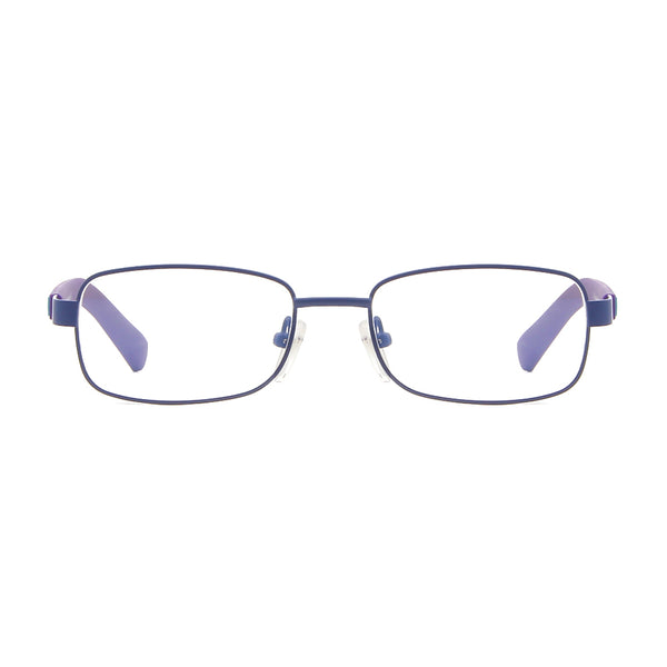 Blue Light Blocking Rectangle Lightweight Computer Glasses for Kids Teens 6330 Metal Clear Lenses Computer Glasses cyxus