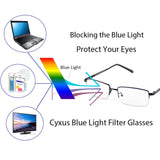 Blue Light Blocking Glasses Baroona Computer Glasses cyxus