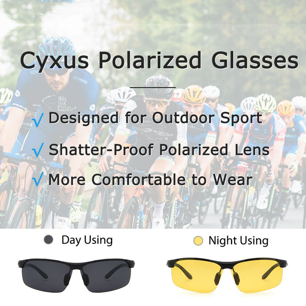 Polarized Sunglasses Rectangle 1010 Polarized Sunglasses cyxus